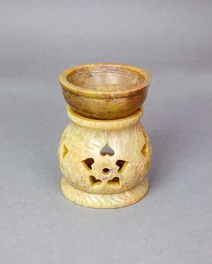 Soapstone Oil Diffuser - Carved