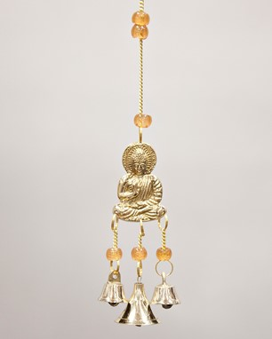 Buddha Chime With Beads