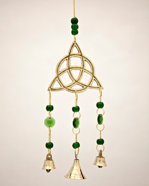 Triquetra Chime With Beads